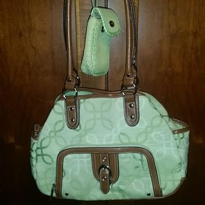 Nine West Purse with matching cell phone pouch
